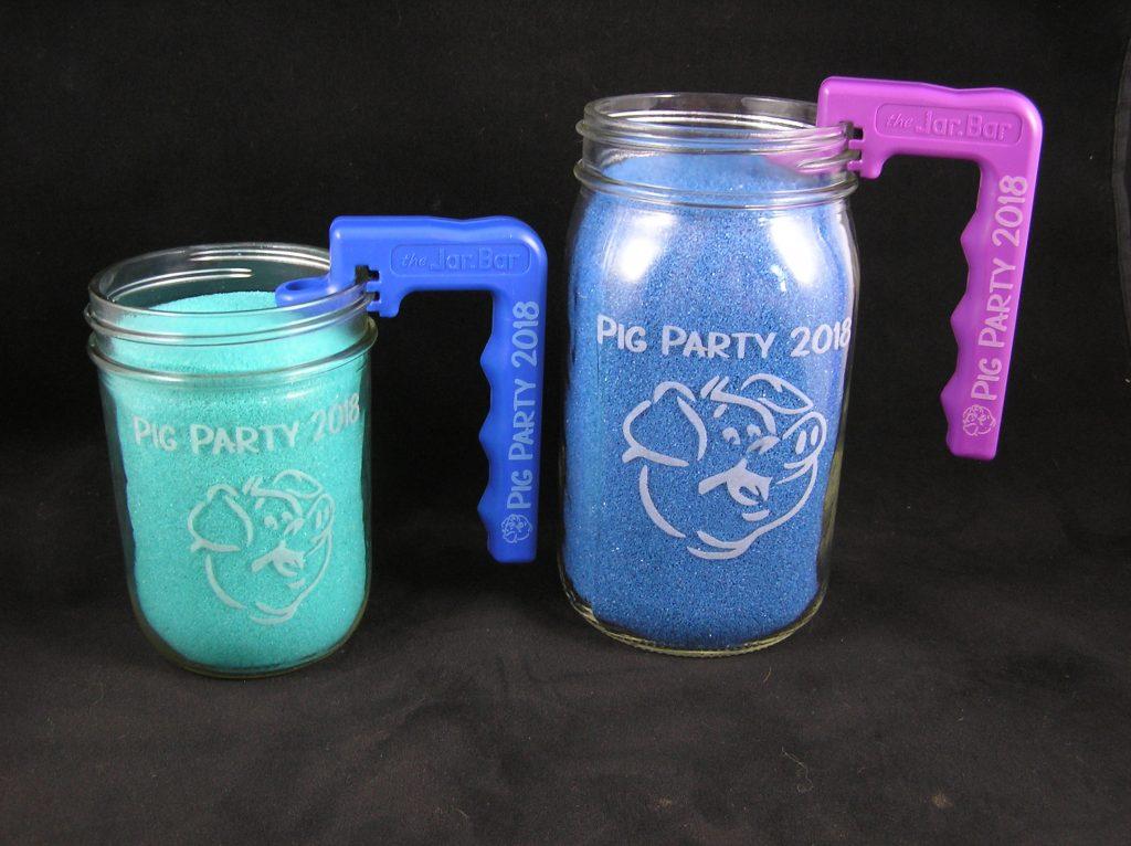 Personalized jars & handles